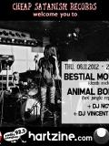 Animal Bodies + Bestial Mouths @ Le Café Central