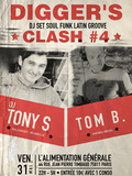 DIGGER'S CLASH #4 : DJ TOM B. vs DJ TONY...