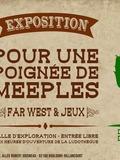 Pour une poignée de Meeples : le Western à l'honneur au Centre national du Jeu
