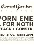 Sworn Enemy + All for Nothing + Wolfpack + Constricted