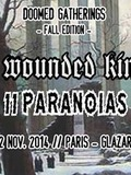 The Wounded Kings + Atlantis + Bast + 11 PARANOIAS
