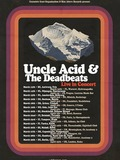 Uncle Acid and the Deadbeats + Black Moth + Admiral Sir Cloudesley Shovell