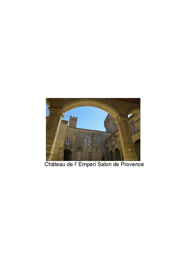 Programme et animations des journ es du patrimoine 2016 - Reconstitution historique salon de provence ...
