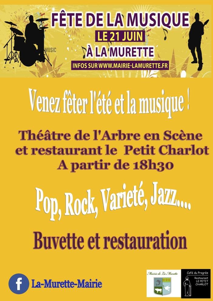 Fête de la musique 2019 - Pop, rock, jazz, chanson française, variété.