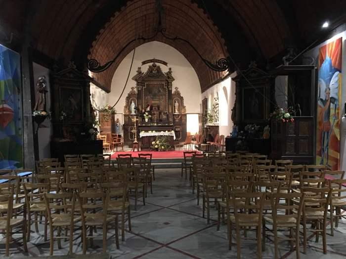 Journées du patrimoine 2020 - Visite libre de l'église du bas d'Ajou