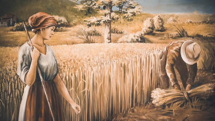 Journées du patrimoine 2020 - Atelier enfant : tressage d'épis de blé
