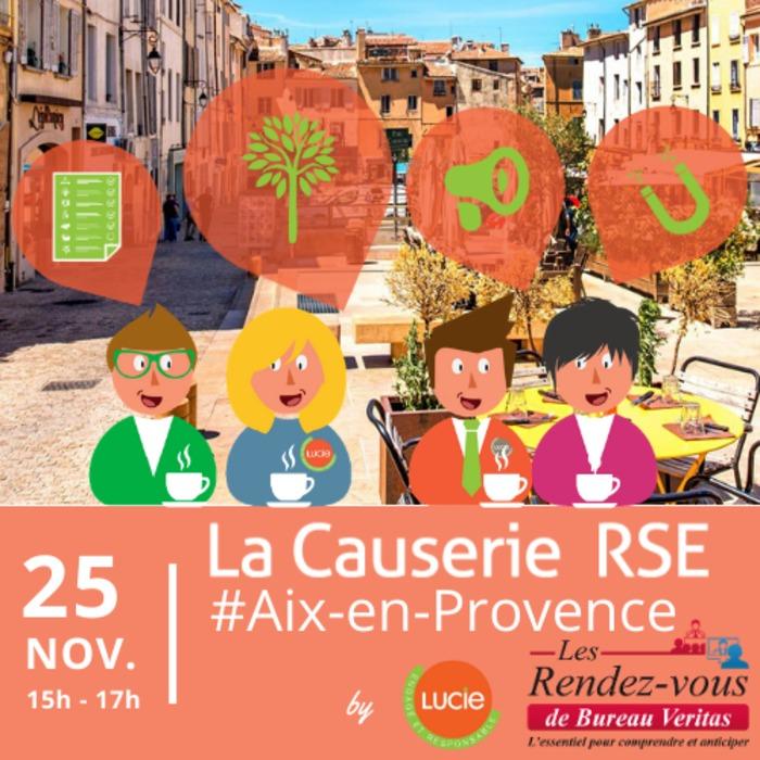 Causerie RSE by LUCIE à Aix-en-Provence