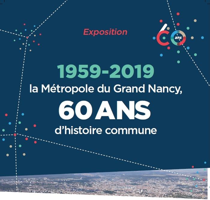 Journées du patrimoine 2019 - Ouverture du château Simon de Chatellus et exposition sur les 60 ans de la Métropole du Grand Nancy