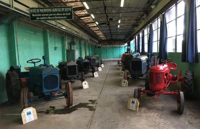 Journées du patrimoine 2019 - À la découverte du lycée et d'une collection de tracteurs anciens