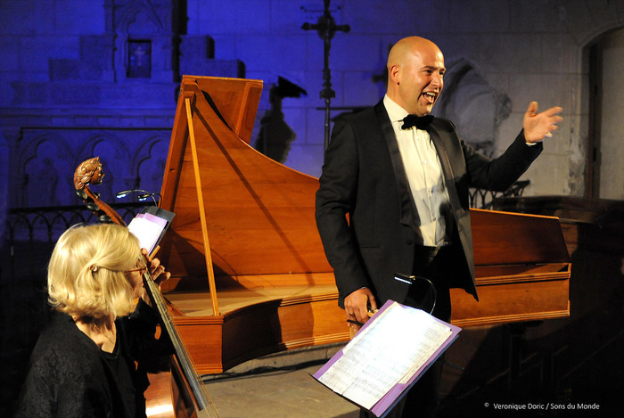 Arias baroques airs pour Farinelli - Contre-Tenor Mathieu Salama