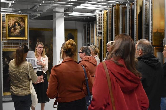 Journées du patrimoine 2020 - Visite des réserves du musée des beaux-arts à Brest