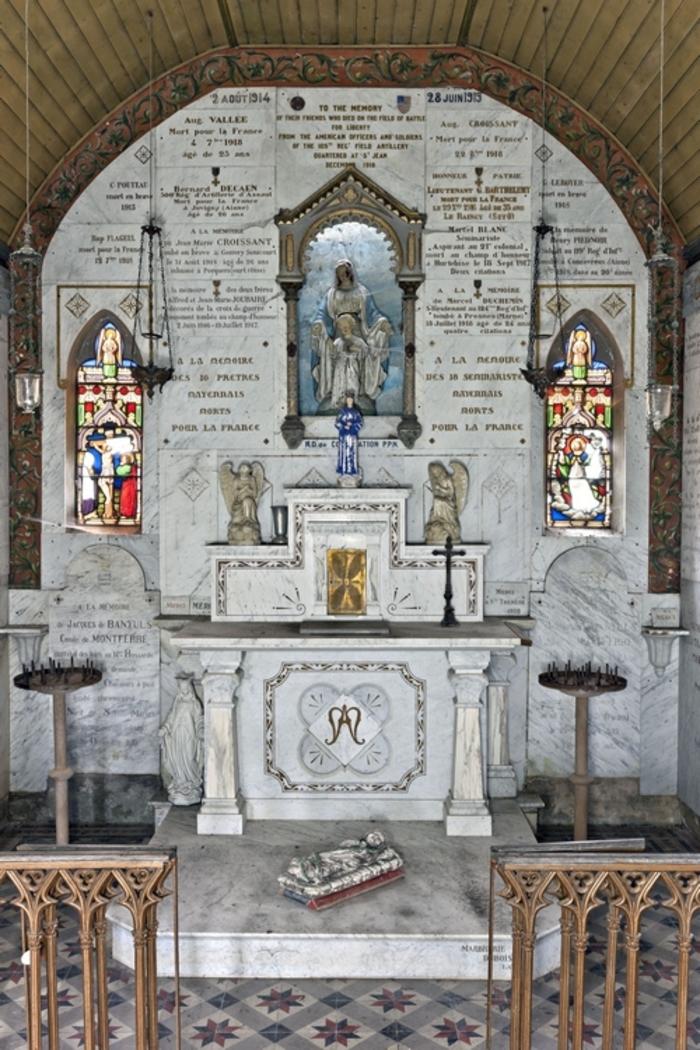 Journées du patrimoine 2019 - Journées du patrimoine : Chapelle St Trèche, grotte et mur Mérovingien