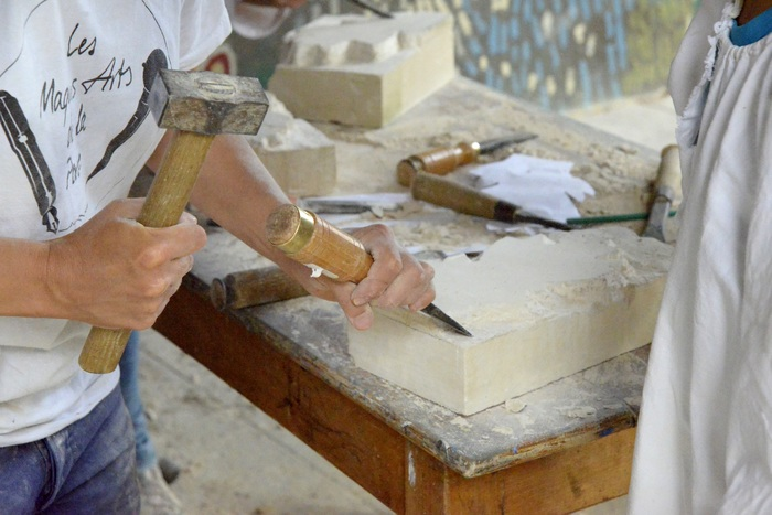 Journées du patrimoine 2020 - Atelier participatif de découverte de la sculpture