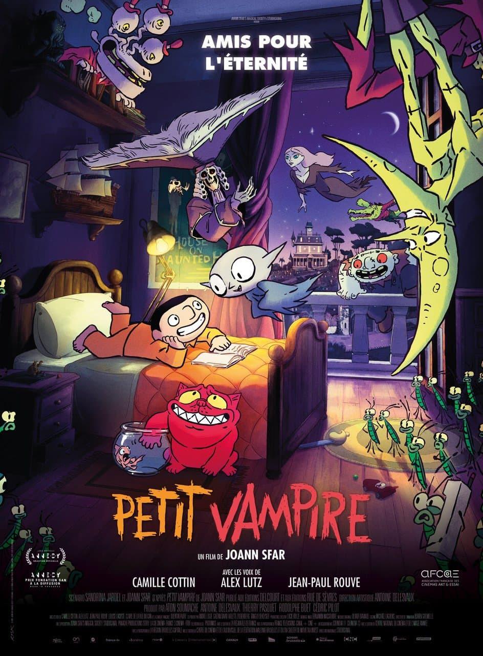 Projection du film Petit vampire pour fêter Halloween