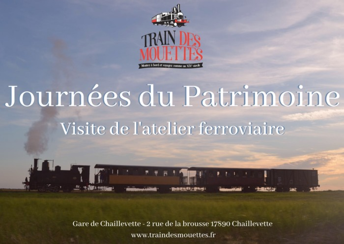 Journées du patrimoine 2020 - Visite de l'atelier ferroviaire