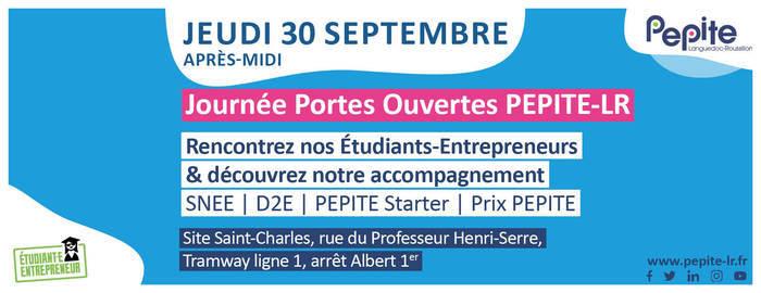 Journée Portes Ouvertes PEPITE-LR Montpellier