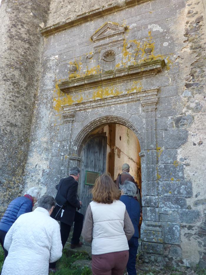 Journées du patrimoine 2019 - visite de la chapelle de l'Audrière