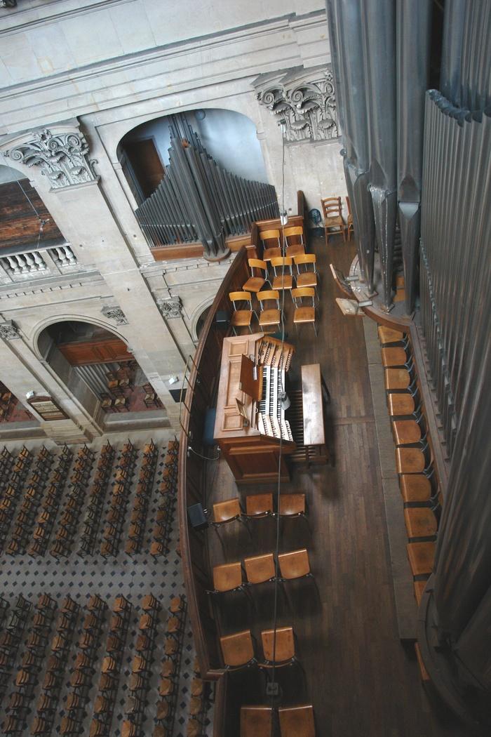 Journées du patrimoine 2020 - Conférence : Le rôle des Grandes Orgues de l'Oratoire : présentation et démonstration, par A. Peter et A. Korovitch, organistes à l'Oratoire