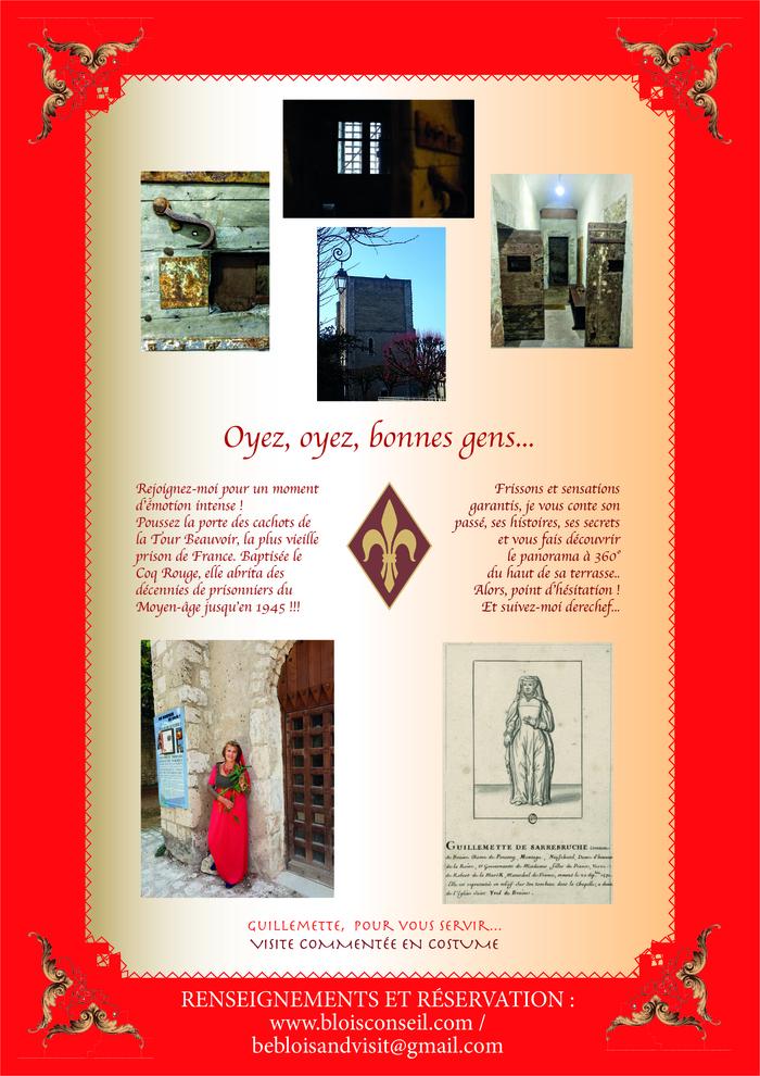 Journées du patrimoine 2020 - Venez découvrir la plus vieille prison de France à la tombée du jour...