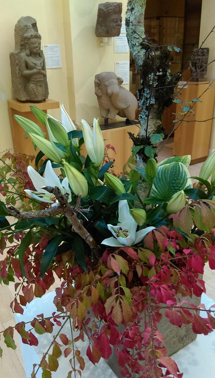 Journées du patrimoine 2019 - Exposition d'Ikebana