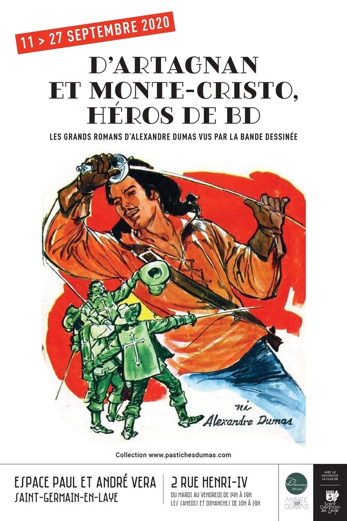 Journées du patrimoine 2020 - Exposition « D'Artagnan et Monte-Cristo, héros de BD Les grands romans d'Alexandre Dumas vus par la bande dessinée »