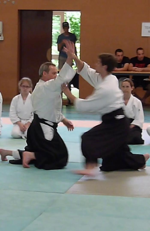 Journées du patrimoine 2020 - Démonstration d'arts martiaux en collaboration avec la SCA AIKIDO AMBOISE : démonstration d'Aïkido