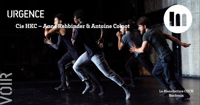 URGENCE – Cie HKC / Anne Rehbinder & Antoine Colnot