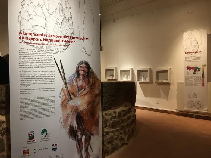 Journées du patrimoine 2020 - Exposition : à la rencontre des premiers occupants du Géoparc Normandie-Maine