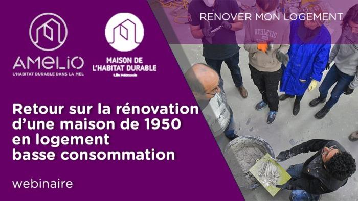 Retour sur la rénovation d'une maison de 1950 en logement basse consommation