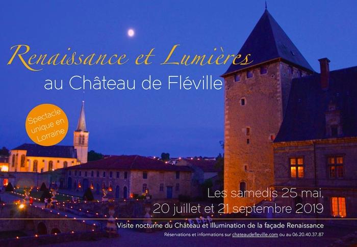 Journées du patrimoine 2019 - Renaissance et Lumières au Château de Fléville