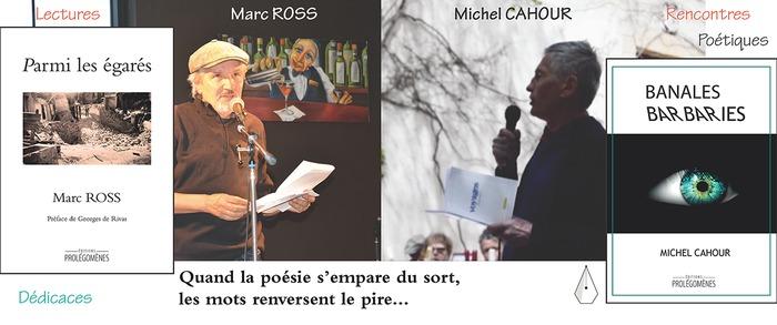 Michel Cahour et Marc Ross seront présents de 10h à 18h, le samedi 18 avril à la Librairie Prado Paradis à Marseille