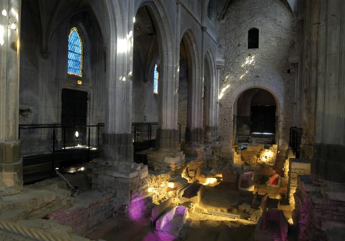 Journées du patrimoine 2020 - Visite du site archéologique de l'église Saint-Clément