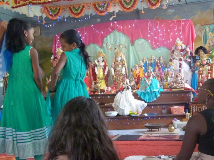 Journées du patrimoine 2019 - Cérémonie au Temple Hindou - Matoury