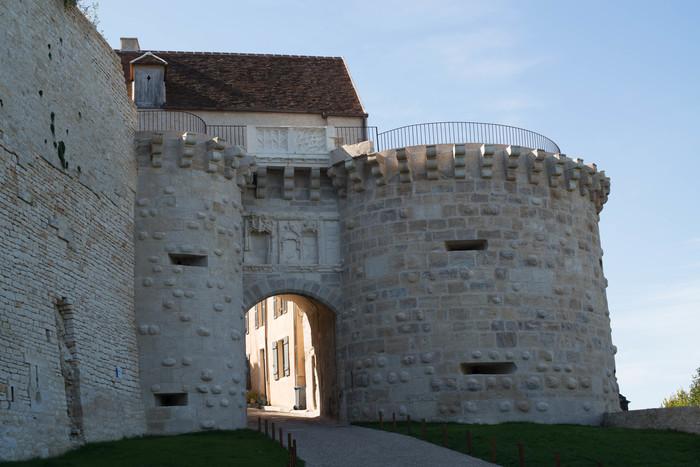 Journées du patrimoine 2019 - Visite guidée des fortifications de la Porte Neuve à Vézelay