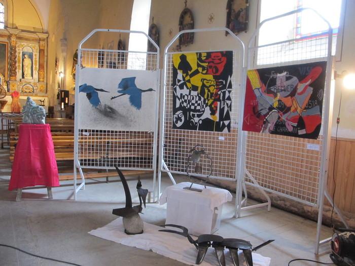 Journées du patrimoine 2019 - Exposition d'œuvres d'art contemporain