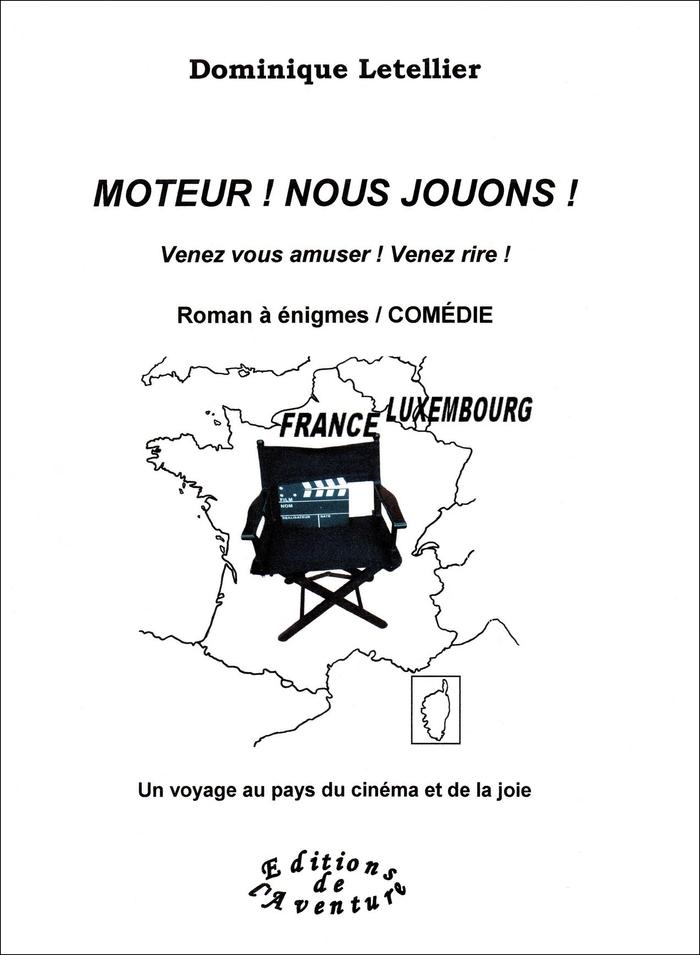Aux 25e Walfer Bicherdeeg les 16 et 17 novembre 2019, la romancière française Dominique Letellier signera son 4e titre, drôle, « Moteur ! Nous jouons ! » qui célèbre le patrimoine de Luxembourg-Ville.