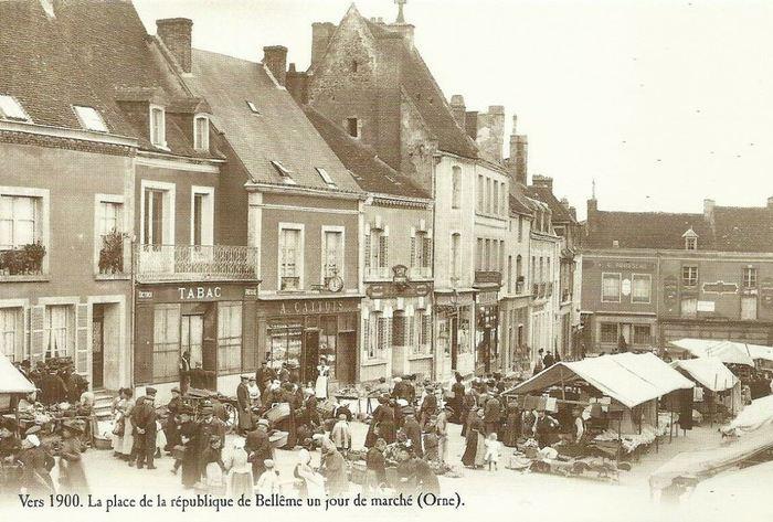Journées du patrimoine 2019 - exposition de vues anciennes de Bellême