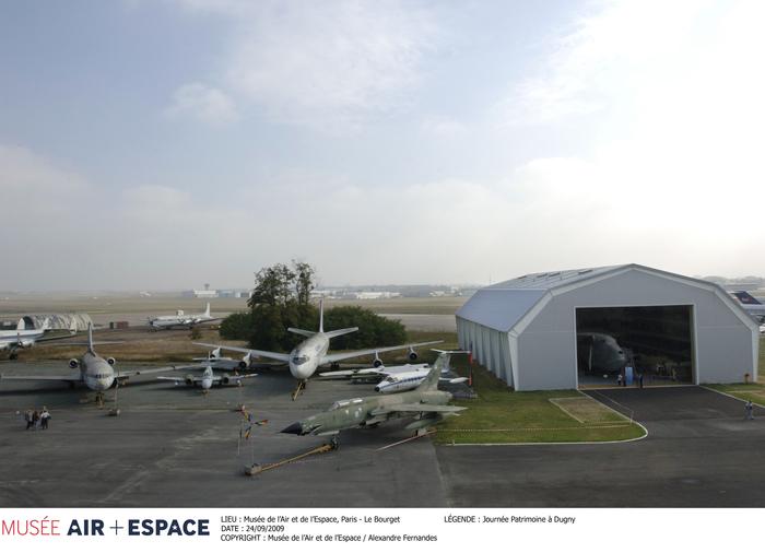 Journées du patrimoine 2019 - Visite des ateliers de restauration du musée de l'air et de l'espace