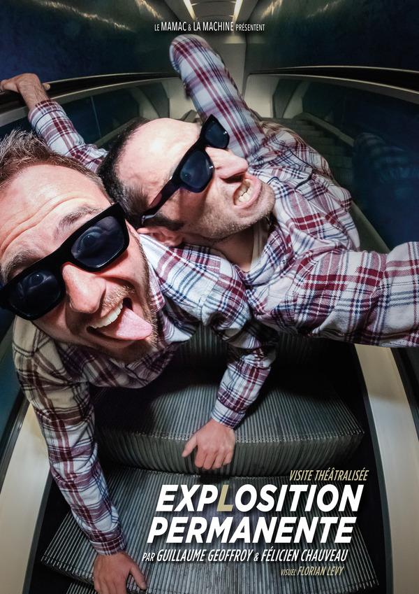 Nuit des musées 2019 -EXPLOSITION permanente - [création] – visite théâtralisée par le Collectif la Machine