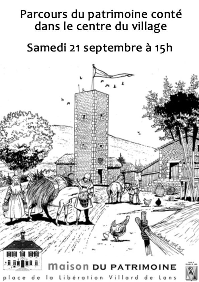 Journées du patrimoine 2019 - Parcours patrimoine conté