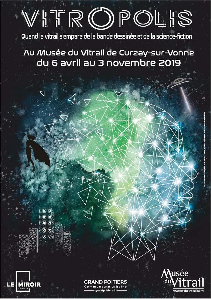 Journées du patrimoine 2019 - Exposition : Vitropolis, quand le vitrail s'empare de la Bande dessinée et de la Science-fiction !