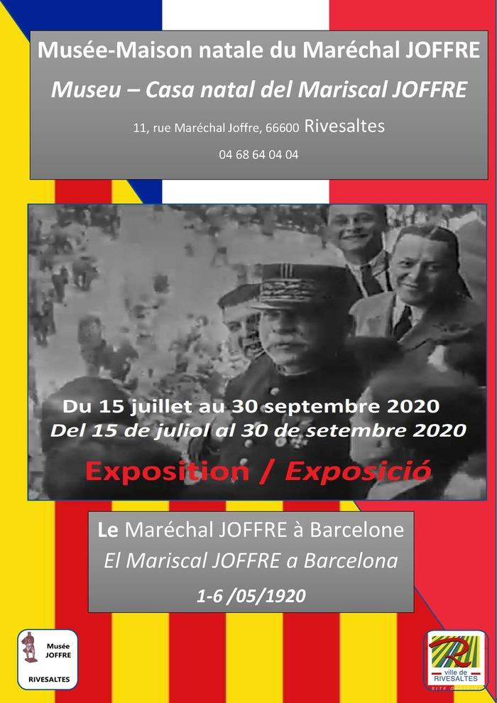 Journées du patrimoine 2020 - Musée-Maison natale du maréchal Joffre ouvert à la visite. Ne manquez pas cette année l' exposition temporaire