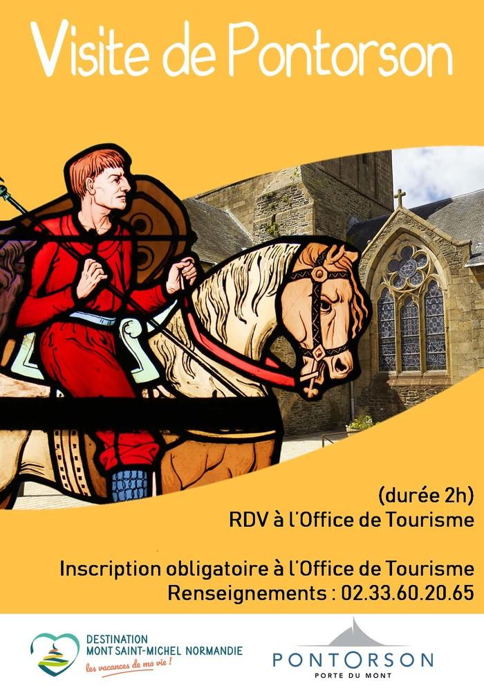 Journées du patrimoine 2020 - Visite guidée historique de Pontorson