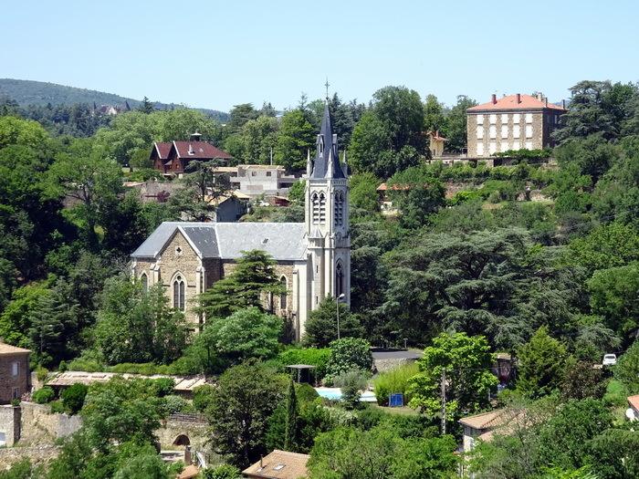 Journées du patrimoine 2019 - Visite commentée de l'église Notre-Dame de l'usine de  Vidalon