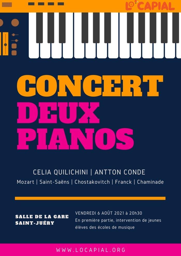 Concert Deux Pianos