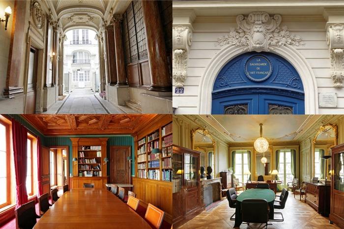 Journées du patrimoine 2019 - Visites guidées des bureaux de la Fondation pour La Sauvegarde de l'Art Français.