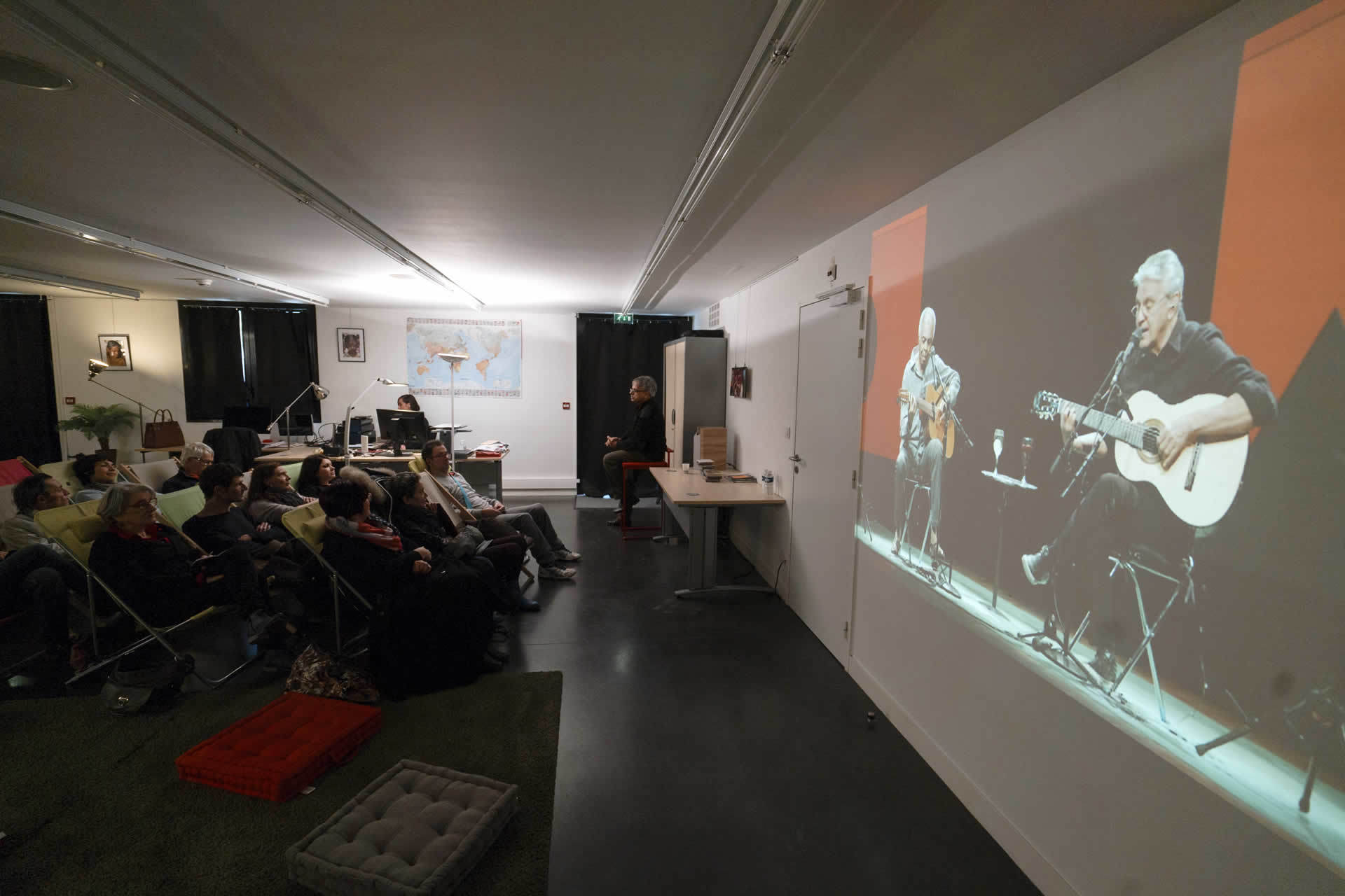 Projection « Africa Mia »