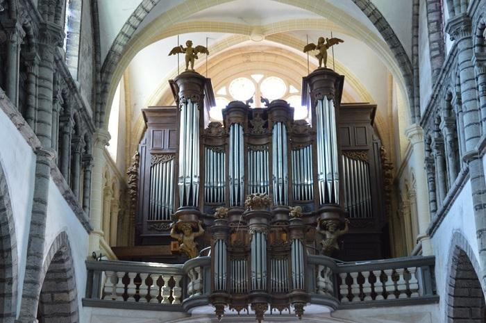 Journées du patrimoine 2019 - Concert d'orgue à la Collégiale Saint-Anatoile