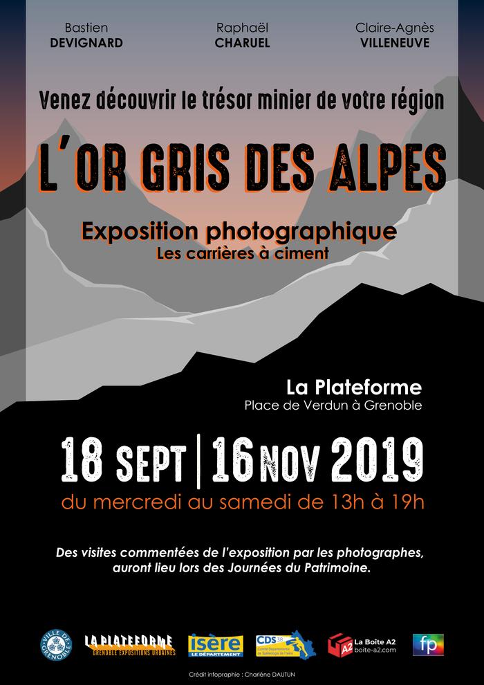 Journées du patrimoine 2019 - L'Or Gris des Alpes