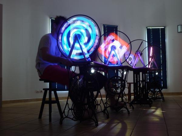 Nuit des musées 2019 -Objets détournés, lumineux et musicaux par Ludicart